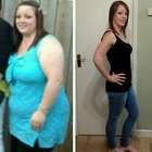 Após ter que remendar vestido de noiva, jovem perde 50kg