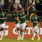 Rafael Santos Borré, tres tantos en la goleada a Millonarios