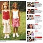 El caso de las gemelas menos parecidas del mundo