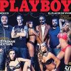 Molotov posa con conejitas en edición musical de Playboy