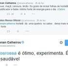 Renan e Cunha esbanjam simpatia. Pelo menos no Twitter...