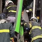 Acidente entre ônibus deixa feridos em São Paulo