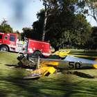 Ator Harrison Ford fica ferido em acidente com pequeno ...
