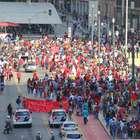vc repórter: passeata do MTST bloqueia ruas no centro de SP
