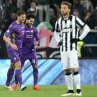 Fiorentina deja 'moretón' a la Juventus en Semifinal de Ida