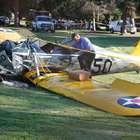Aeronave de Harrison Ford vazava combustível, diz testemunha