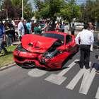 Lujoso Ferrari es protagonista de accidente en Chile