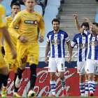 El Real Sociedad - Espanyol, en imágenes