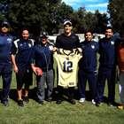 Mark Sanchez visita y convive con los Pumas CU UNAM