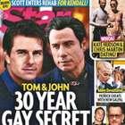 Tom Cruise y John Travolta tienen romance, revela revista