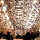 El Papa recibe a decenas de indigentes en la Capilla Sixtina