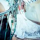 Top transex, Carol Marra posa vestida de noiva para revista