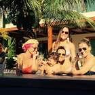 Juliana Paes faz 36 anos e posta foto de festa na piscina