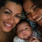 Naldo e Morango mostram a filha recém-nascida no Instagram