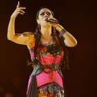 Lila Downs presenta su disco 'Balas y Chocolate' en el Plaza