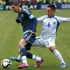 En imágenes, el triunfo de Argentina ante El Salvador