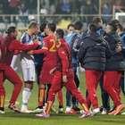 UEFA investiga a Montenegro y Rusia por incidentes en juego