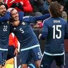 Sin Messi, Argentina deja dudas tras ganar 2-0 a El Salvador