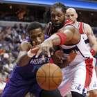 Wizards, de Nenê, vencem Hornets depois de duas prorrogações