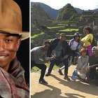 Pharrell Williams en Machu Picchu: fotos de su paso por Perú