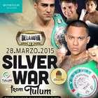 Disfruta la función de box 'Silver War' EN VIVO desde Tulum