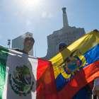 Gran ambiente se vive previo al México vs Ecuador