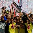 Postales de la U de Conce campeón de la Copa Chile 2014/15