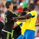 Imágenes de México contra Ecuador en Los Angeles