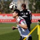 James Rodríguez podría volver este domingo ante el Granada