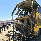 Autobús de pasajeros cae a un abismo en sur de Perú, al ...