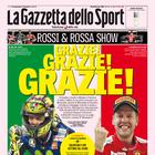 É para tanto? Italianos se empolgam com Ferrari e Rossi