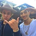 Maluma, de fiesta con Justin Bieber