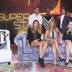 Com Sandy, equipe de 'Superstar' se reúne para coletiva