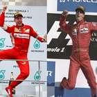 Blog: Vettel emula Schumacher, e Nasr cai na real na Malásia
