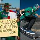 ¡De fiesta! Ve el ambiente previo del México-Paraguay