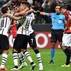 Mejores imágenes de la goleada de Corinthians sobre Danubio