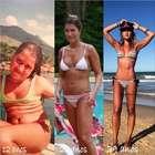 """Ex-gordinha, blogueira fitness diz: """"comia tudo que via"""""""