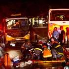 Acidente entre dois ônibus deixa 1 morto e 38 ferido em SP