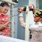 Tras críticas, Lewis Hamilton defiende su festejo en Shangai