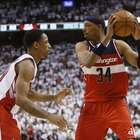 Paul Pierce da a Wizards primera victoria sobre Raptors