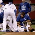 Impresionante lesión en el beisbol de Grandes Ligas