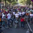 Capitalinos celebran Día Mundial de la Bicicleta