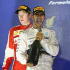 Hamilton passeia e vence no Bahrein; Massa sofre após pane