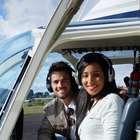 Ex-BBBs Rafael e Talita celebram 1 mês juntos em helicóptero