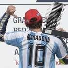 Rossi le dedica su primera victoria en Argentina a Maradona