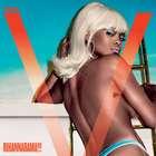 De topless, Rihanna estampa capa da revista V Magazine
