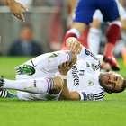 Benzema, dos semanas de baja por un esguince de rodilla