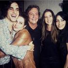 Em família: Cleo Pires posta foto com Fábio Jr. e Fiuk