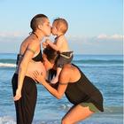 Una pareja de madres lesbianas enternece con sus fotos