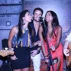 Farra: ex-BBB Rafael curte aniversário com Amanda e Talita